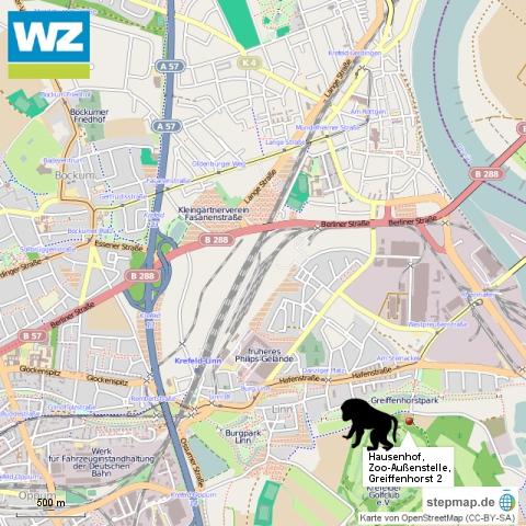 Karte Hausenhof