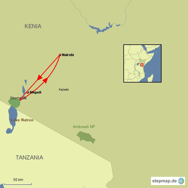 KE Shompole Wildnis am Rande des Rift Valley