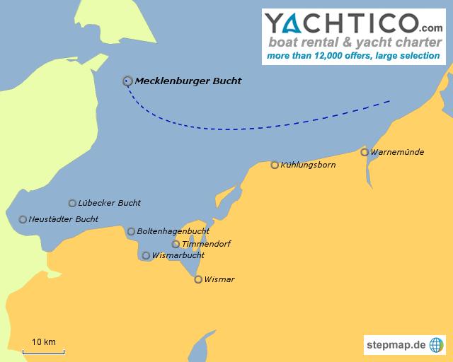 Segelboote mieten - Segeln Mecklenburger Bucht