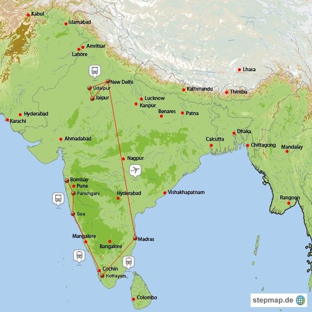 Indien-Trip