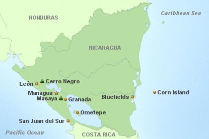 Nicaragua Auf 1 Blick
