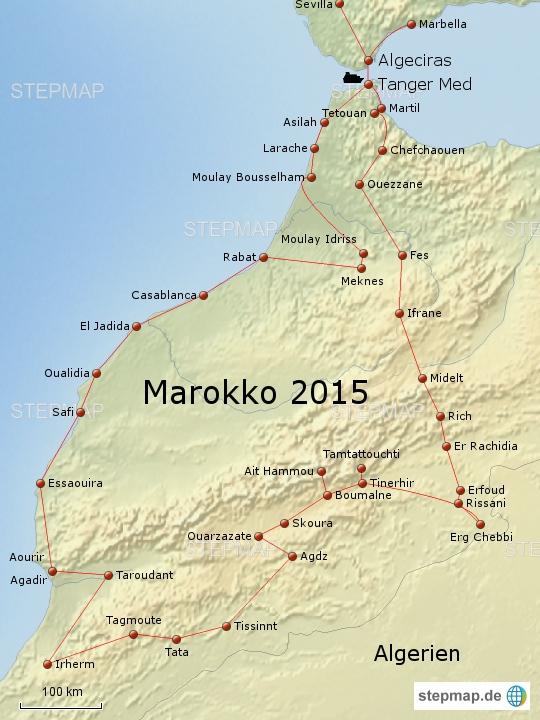 Marokko 2015