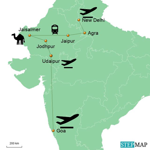 Indienreise Februar 2017