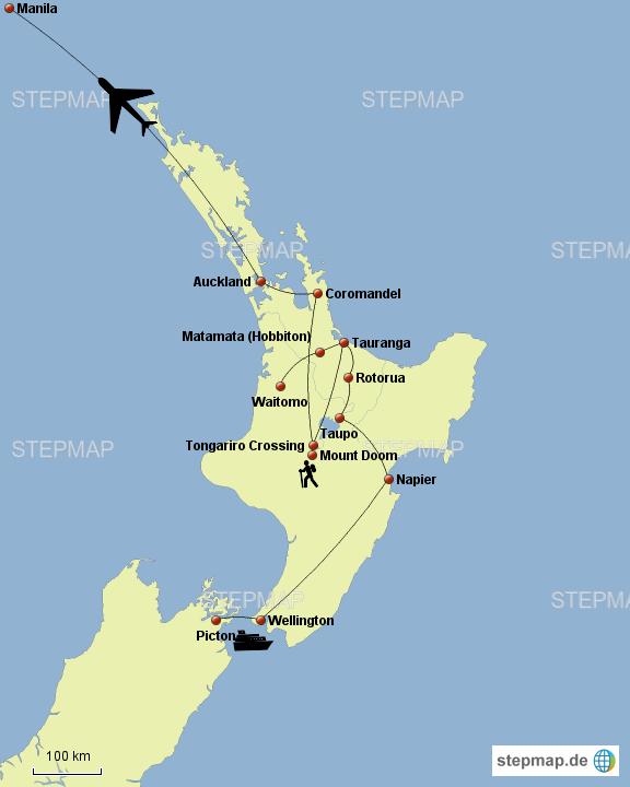 Neuseeland Norden