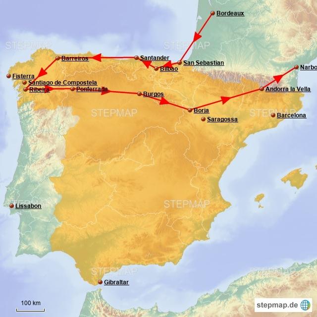 Spanienreise 2017 - Teil 2