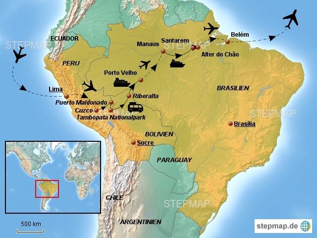 Amazonas Dschungeltour