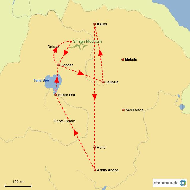 ET Historische Route im Fluge