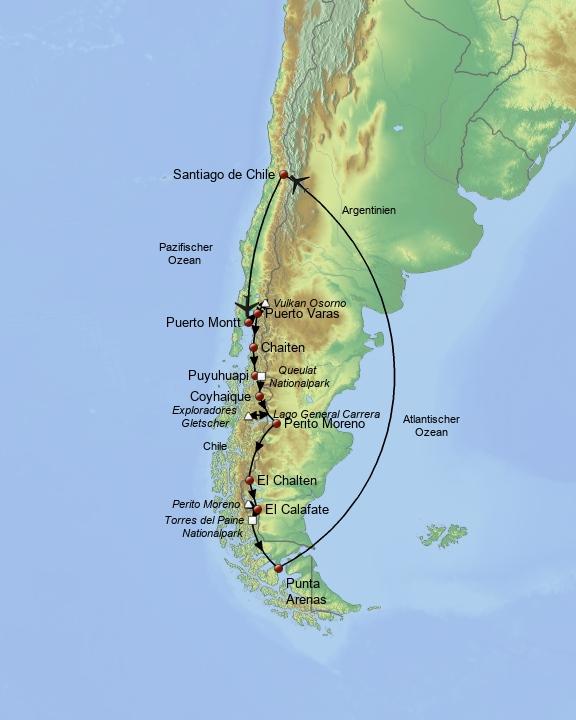 Die wilde Natur Patagoniens 2017