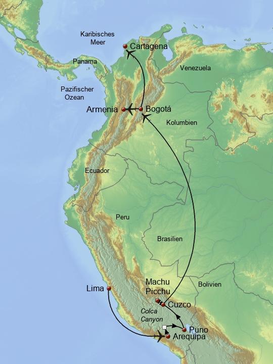 Perus & Kolumbiens Schätze