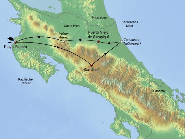 Familienreise Costa Rica