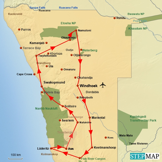 SW Best of Namibia