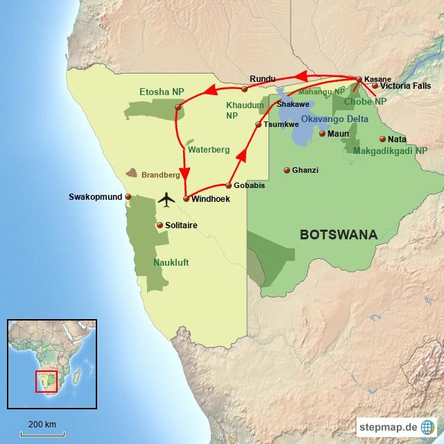 SW KhaudumOkavangoCapriviEtosha