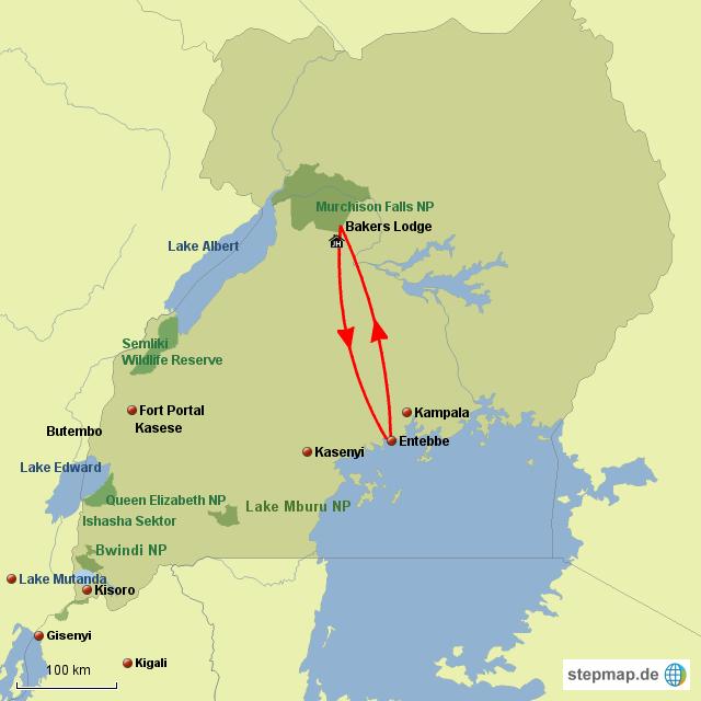 UG Murchison Falls Safari