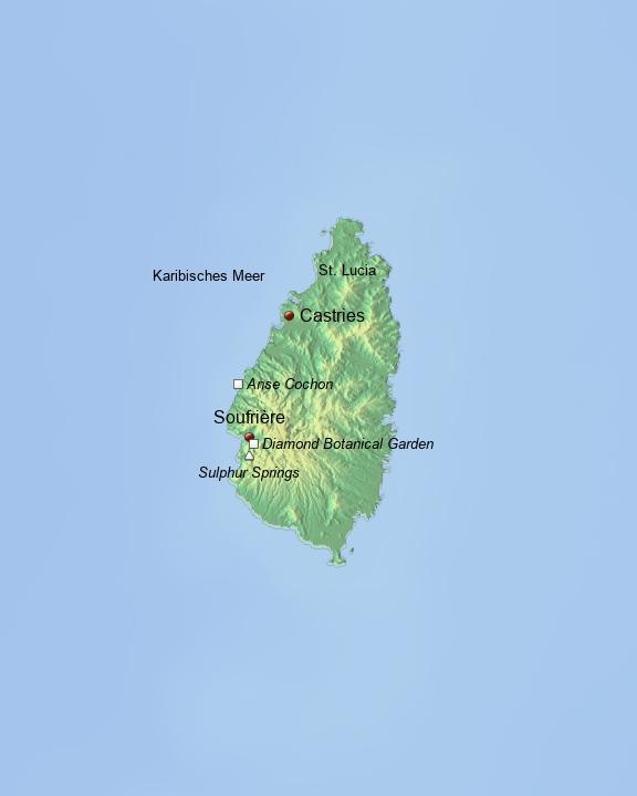Baustein Saint Lucia