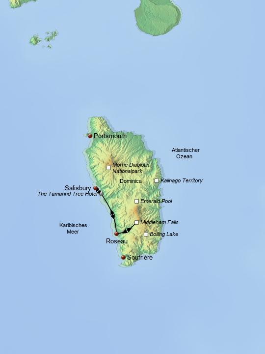 Wanderreise Dominica