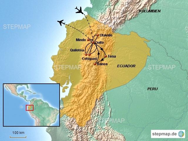 Ecuador Rundreise (12 Tage)