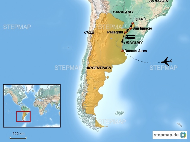 Argentinien - Iguazu Tour (8 Tage)