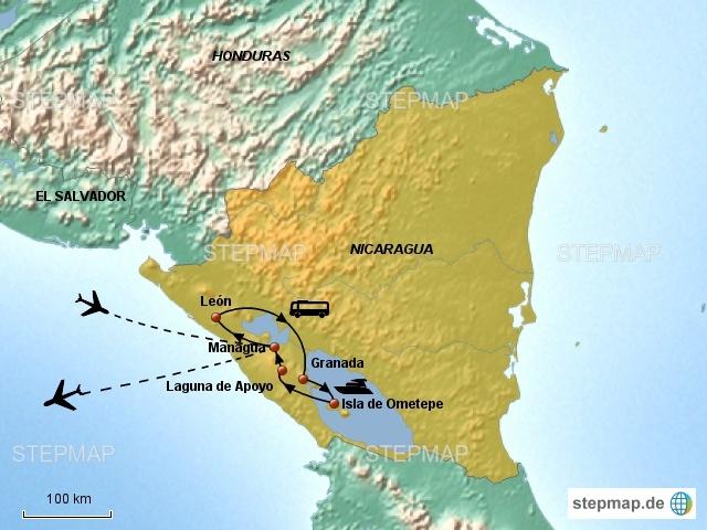 Nicaragua Rundreise (10 Tage)