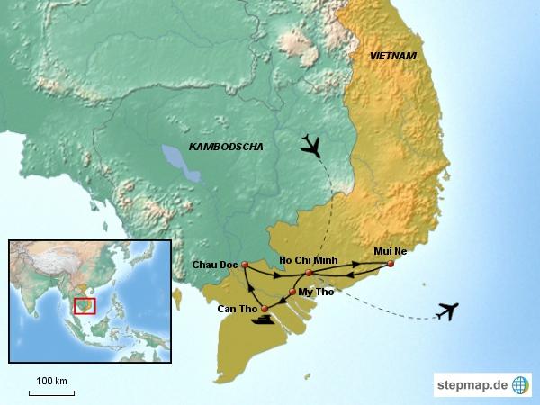 Vietnam Süden (10 Tage)
