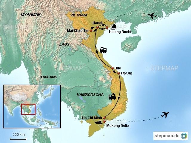 Vietnam Nord-Süd (13 Tage)
