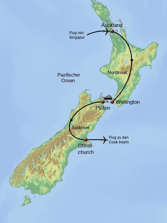Neuseeland Cook Inseln