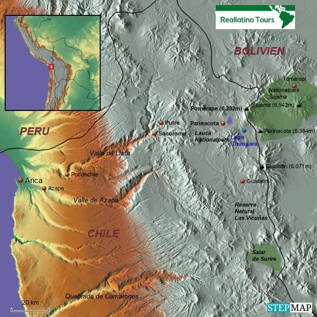 Arica und Putre