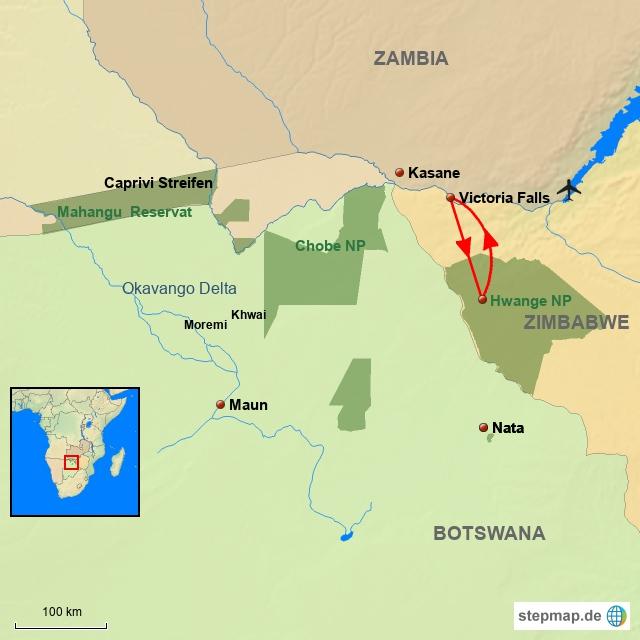 ZI Zimbabwe & Hwange NP
