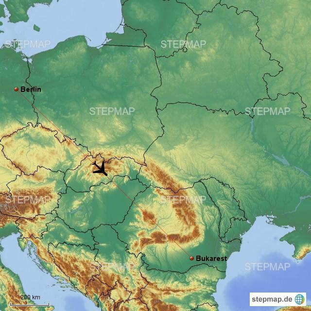 Flug von Berlin-Schönefeld nach Rumänien