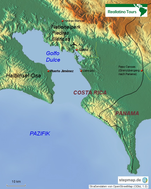 Costa Rica Südpazifik