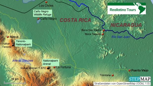 Costa Rica Nördliches Tiefland