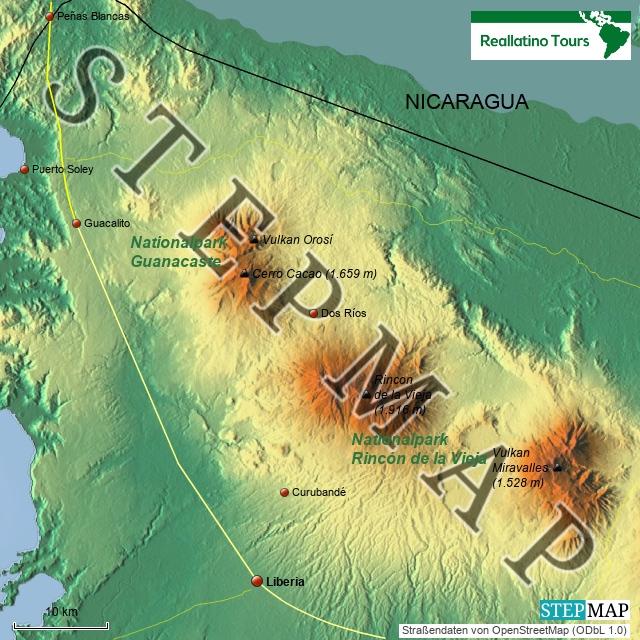 Costa Rica Nordwesten
