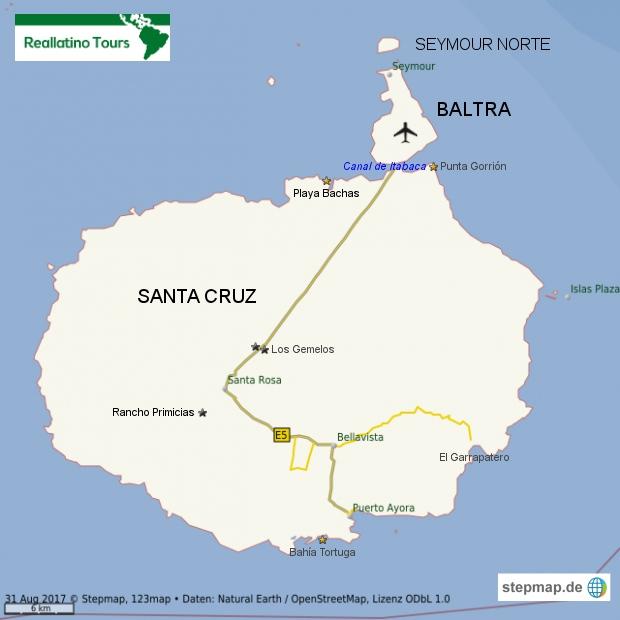 Insel Santa Cruz