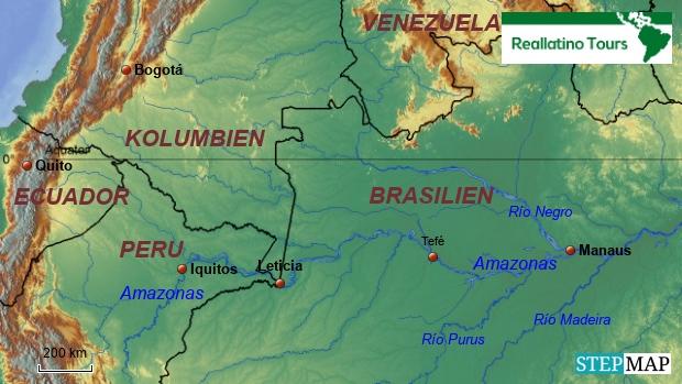 Leticia in Südamerika