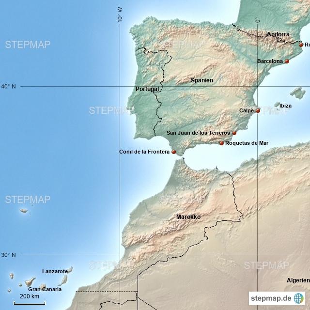 Spanien - Unsere Reiseziele