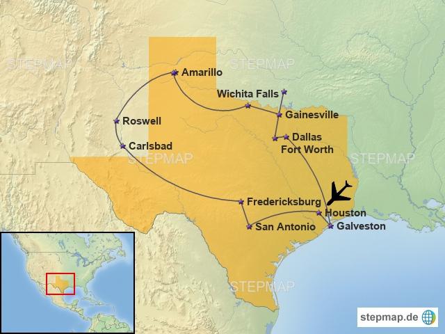 Rundreise Texas