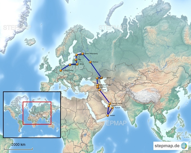 Vierrreisen unterwegs in den Oman