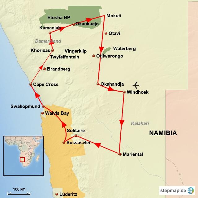 SW Klassisches Namibia G02