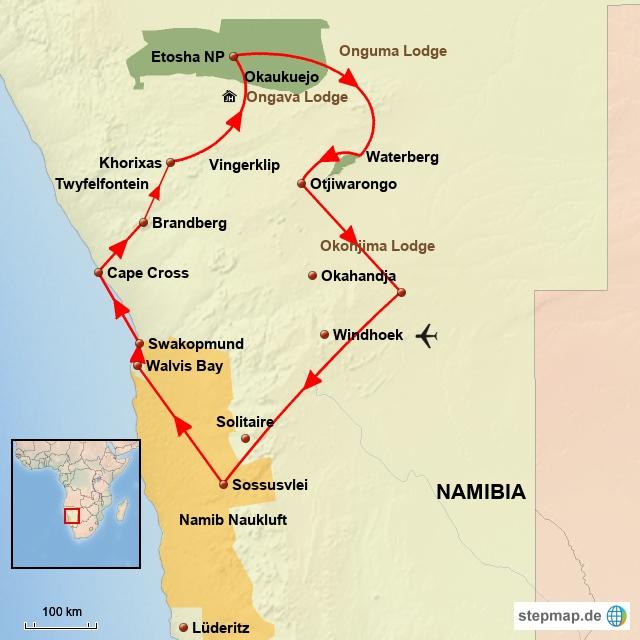 SW Namibia Exklusive
