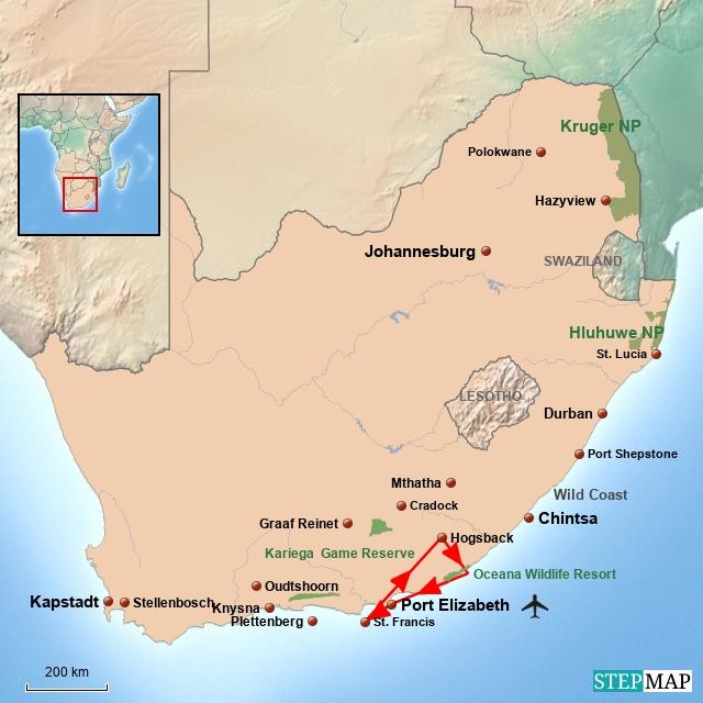 SA Safari im Östlichen Kap
