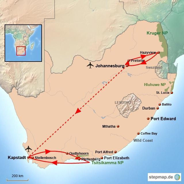 SA Facettenreiches Südafrika