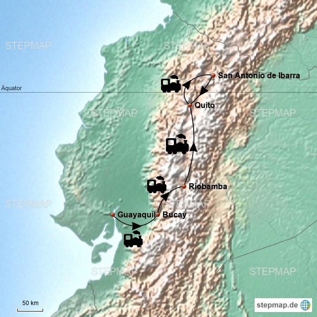 Tren a los Nubes Ecuador