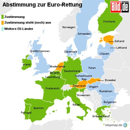 Bild.de: Abstimmung zur Euro-Rettung