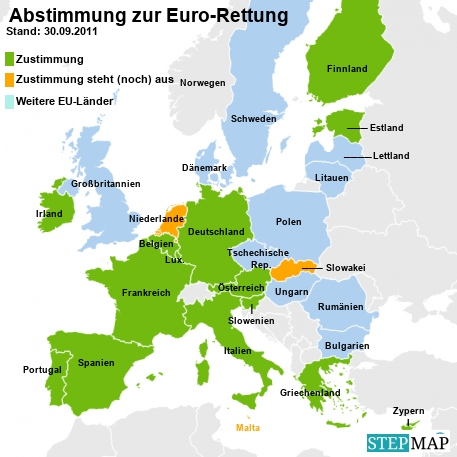 Abstimmung zur Euro-Rettung 30.09.2011