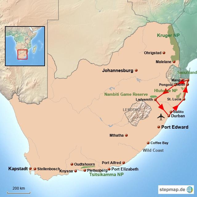 SA Kwazulu Natal für Geniesser