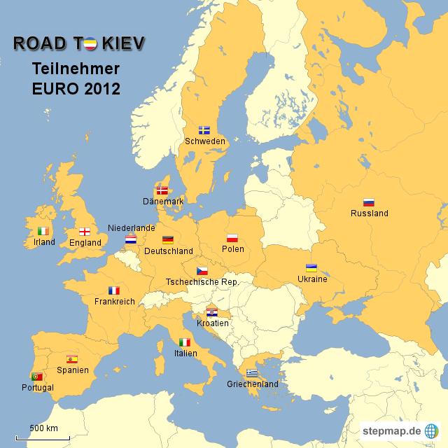 Teilnehmer EM 2012