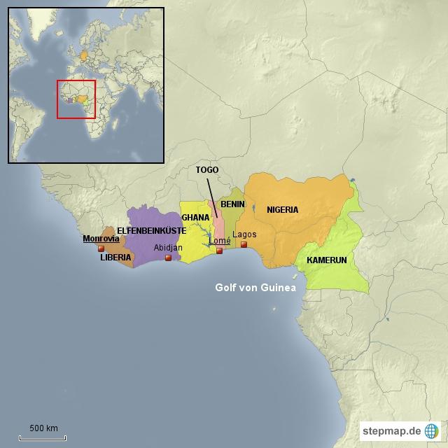 Golf von Guinea/ Westafrika