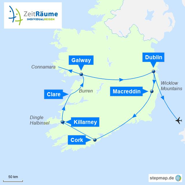 Irland Wahre Genussmomente mit Logo