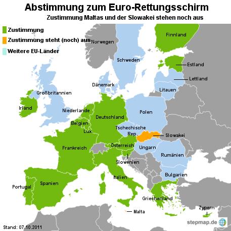 Niederlande stimmen Euro-Rettungsschirm zu