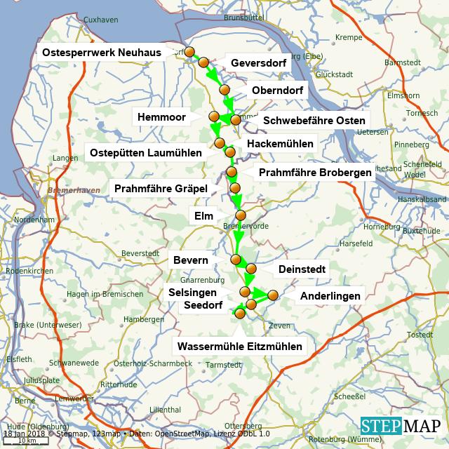 APEnteuer-Tour Osteland