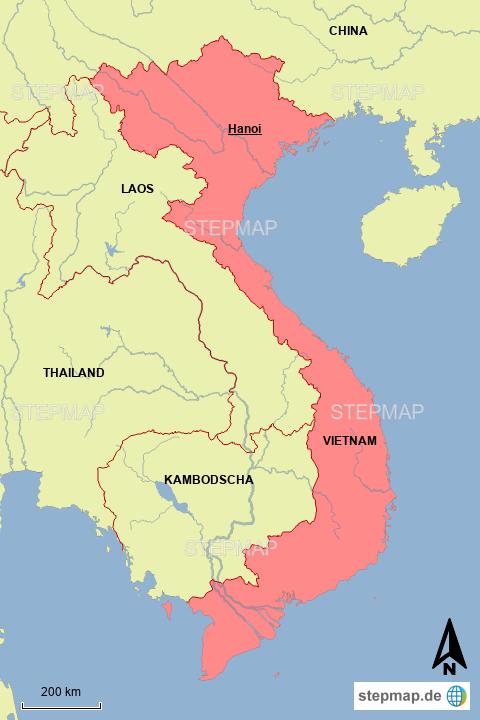 VIETNAM-Übersicht